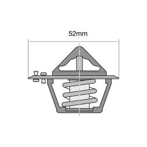 THERMOSTAT-FOR-FORD-COURIER-2-2-D-PC-1988-1996