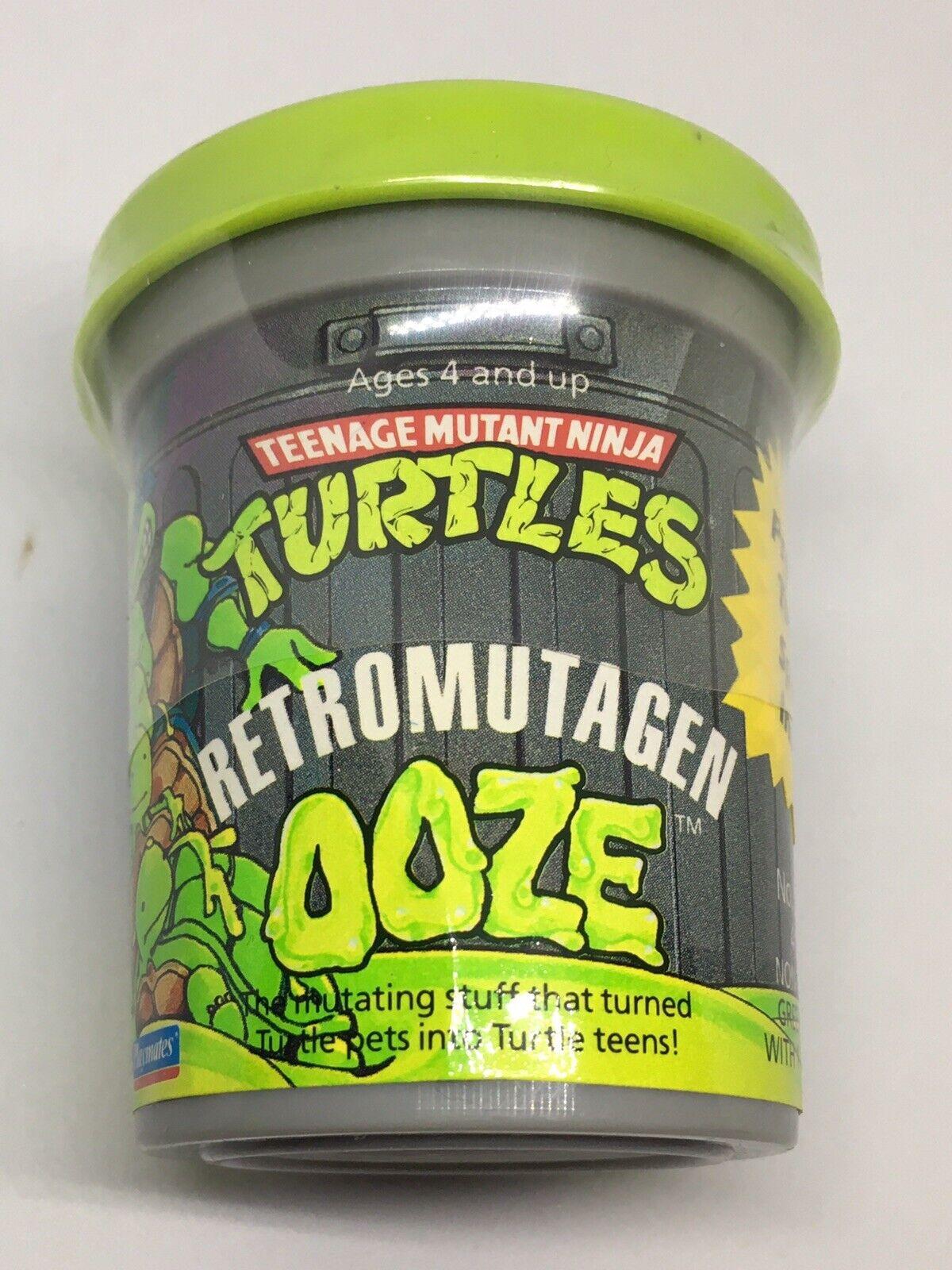 TMNT Teenage Mutant Ninja Turtles Retromutagen Ooze NEW Sealed