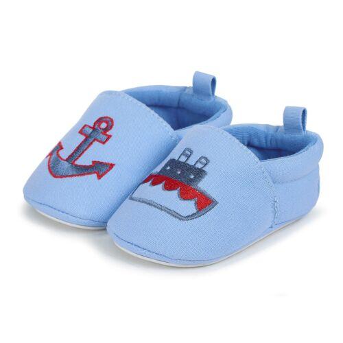 Sterntaler Baby Krabbelschuhe Dampfer//Anker 2301855 Neu