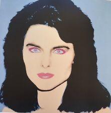 Andy Warhol,Maria Shrivel,Aretha Franklin 1986 Mini Poster Pop Art 29x24.5cm 293