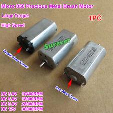 Dc 3v 12v 36000rpm High Speed Mini Mute 050 Motor Precious Metal Brush Motor Toy