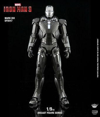 King Arts 1:9 Metal DFS047 MK13 Mark13 Iron Man Figure Model Toy