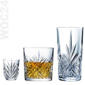 6-Longdrinkglaeser-Whiskyglaeser-Cocktailglaeser-Trinkglaeser-Likoerglaeser-Cocktail