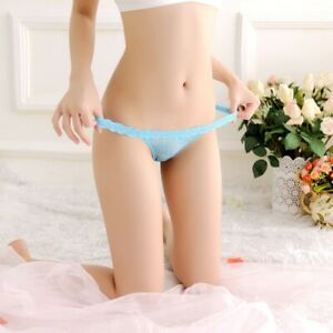 Womens-G-String-Sexy-Lace-Sheer-Panties-Thong-Floral-Underwear-Briefs-Underpants