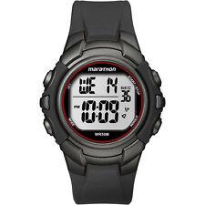 Timex T5K642, Men's Marathon Resin Watch, Indiglo, Alarm, Stopwatch, T5K642M6