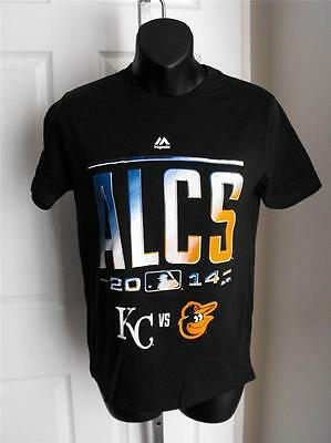 m 10/12 T-shirt 57om New-minor-flaw Baltimore Orioles Alcs 2014 Youth Medium