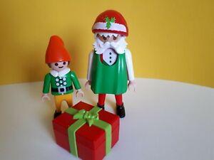 Playmobil-Weihnachten-Nikolaus-Wichtel-Geschenk-Konvolut-Sammlung