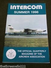 AIRCREW ASSOCIATION - INTERCOM - SUMMER 1998