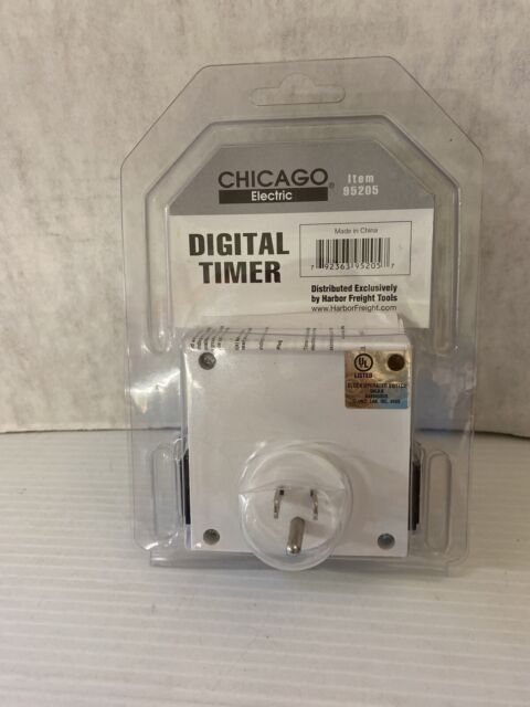 Digital Lcd Display Screen Appliance, Outdoor Timer For Lights Harbor Freight