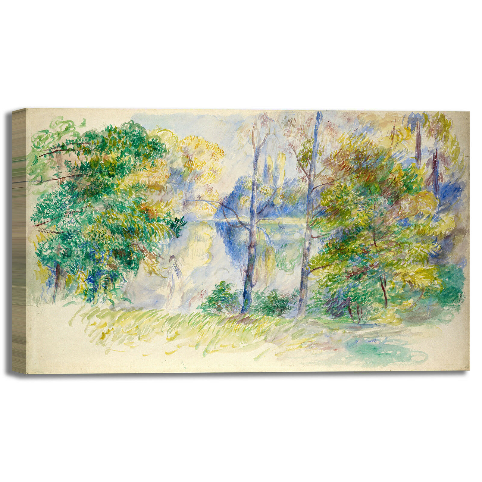 Reschwarz veduta di un parco design quadro quadro quadro stampa tela dipinto telaio arroto casa dc61c9