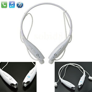 Wireless Stereo Bluetooth Headset Neckband Earphone For iPhone