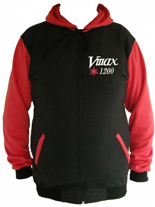 Yamaha Vmax 1200 Fan Sweatshirt Kapuzenjacke Hoodie Lieferz. ca. 8 Tage