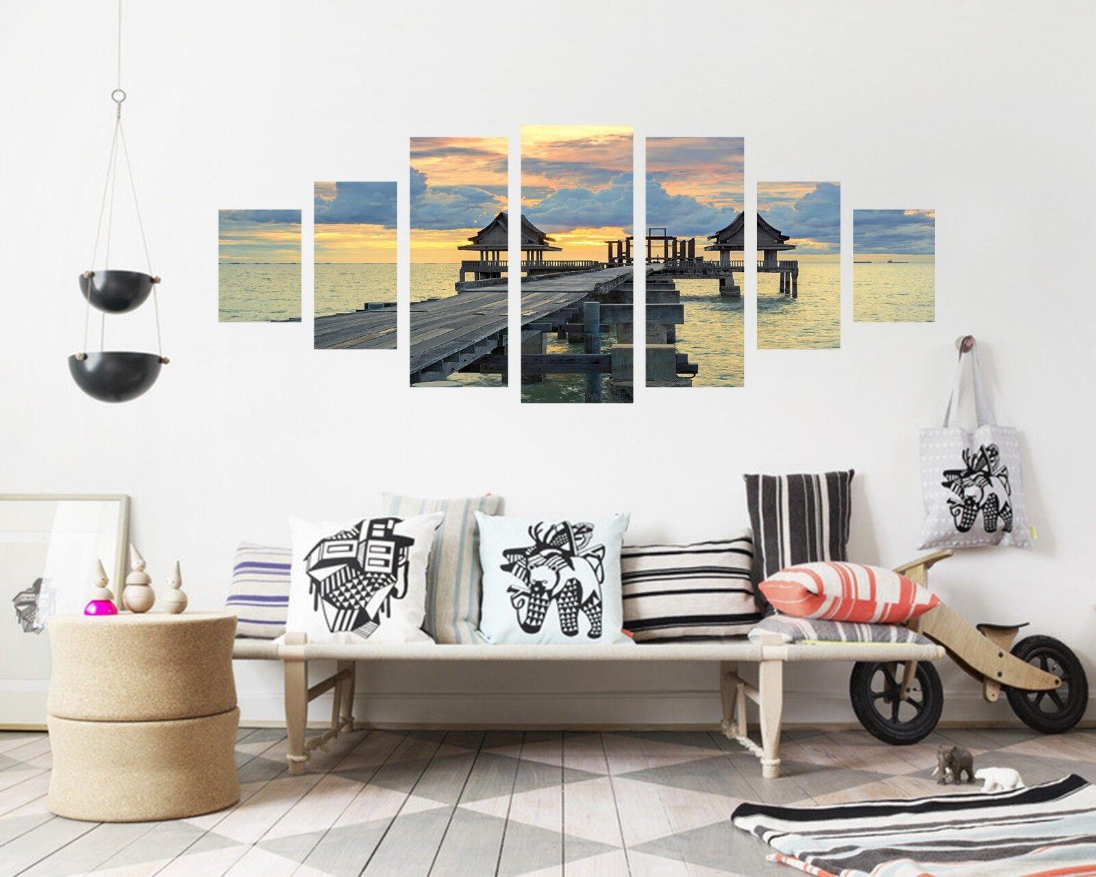 3D Sunrise Coastal 564 Unframed Print Wall Paper Decal Wall Deco Indoor AJ Wall