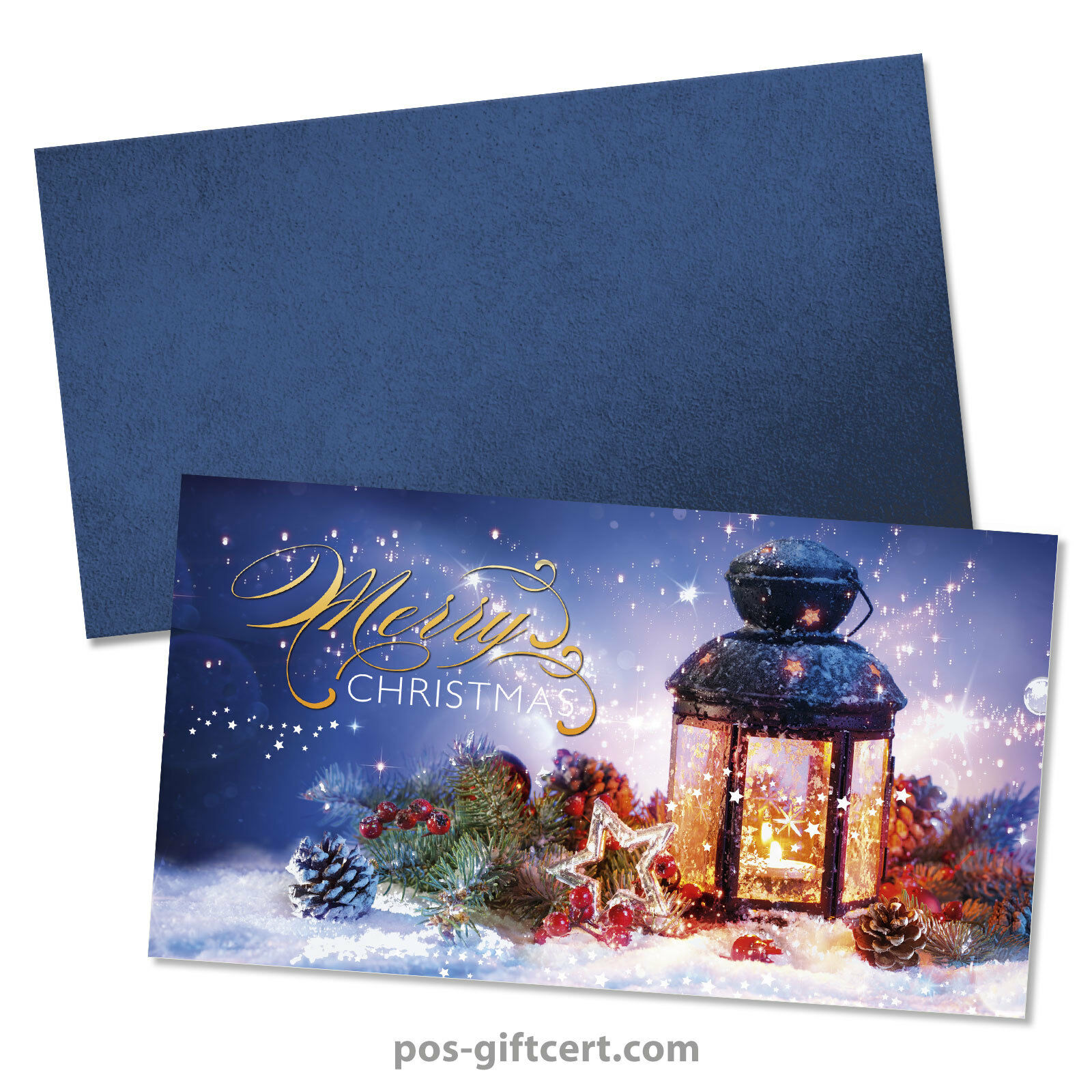Gift vouchers + envelopes for christmas X1299GB