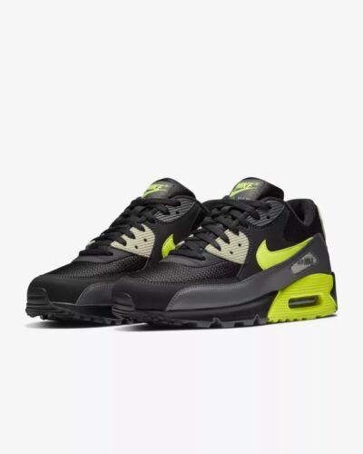 Knochen '90 Grau Air Max Laufen Größen 13 Nib Schwarz 8 015 Volt Essential Aj1285 Nike IzqSxx