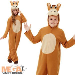 Child Plush Camel Costume Christmas Nativity Boys Girls Fancy Dress Outfit