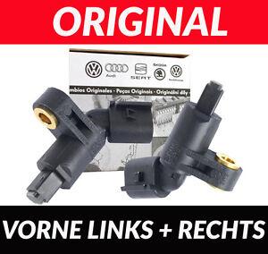 2x ABS Sensor ABS-Sensor Raddrehzahlf/ühler vorne links rechts