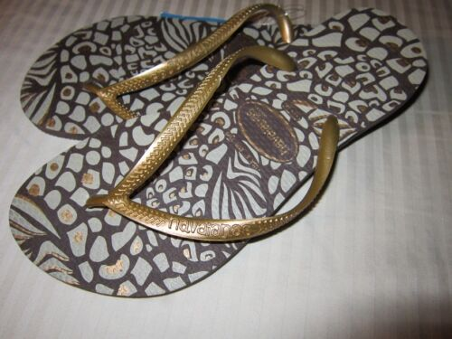 Havaianas Slim Animals Women/'s Flip Flops **CHOOSE SZ /& COLOR*