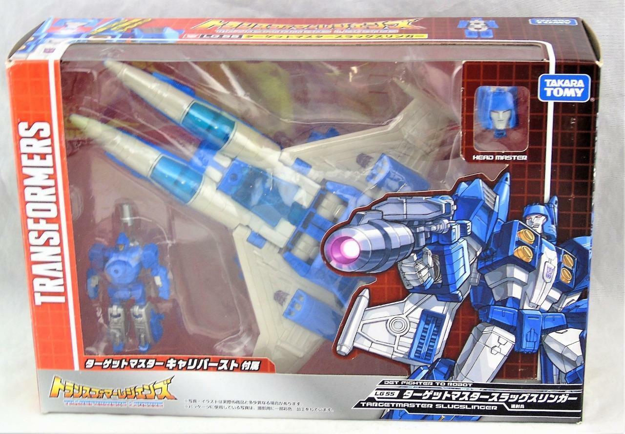 Transformers Takara Legends LG-55 Slugslinger Targetmaster Deluxe Complete