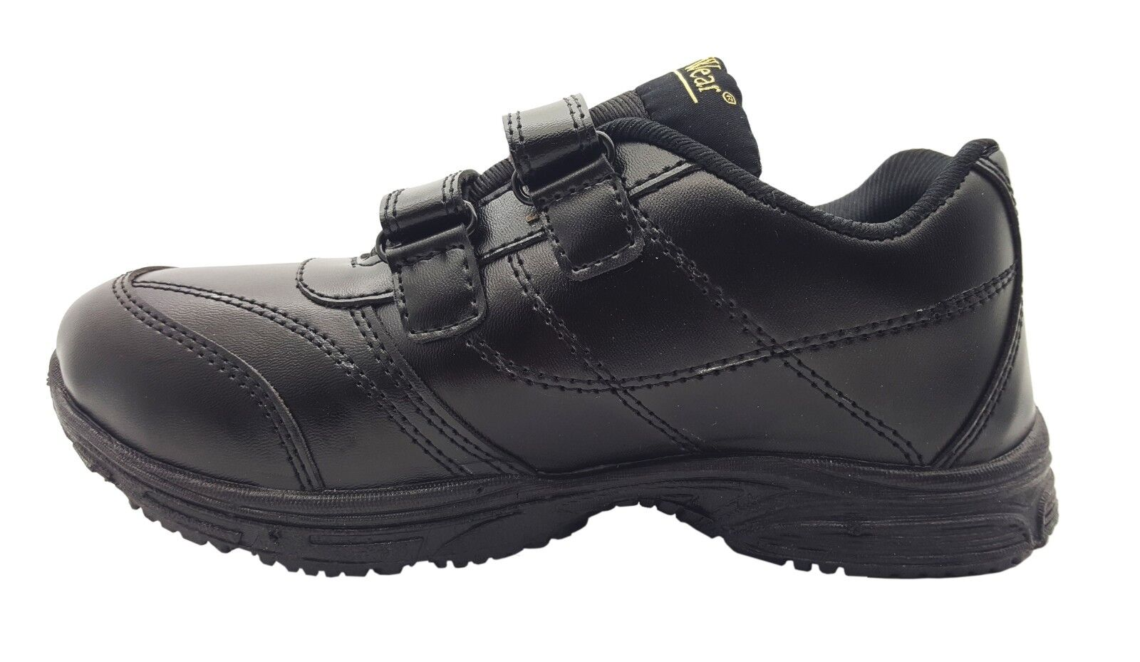 JC Dees Boys Back To School Shoes RipTape Strap N1056 UK size 11 to 4 R2B