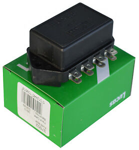 lucas 4 fuse box as used by 1975 \u0026 later mgb 7fj ebayimage is loading lucas 4 fuse box as used by 1975