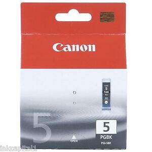 1x-Canon-original-OEM-pgi-5bk-CARTUCHO-DE-TINTA-negro