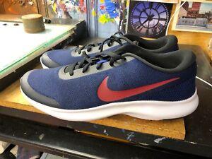 7b9e612fe415 Nike Flex Experience RN 7 Black Red Crush Blue Running Size US 13 ...