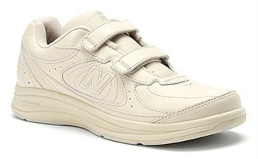 NEW NEW NEW BALANCE Men's Leather Sneakers with Hook & Loop Closure, Med, Wide & X Wide 7d656c