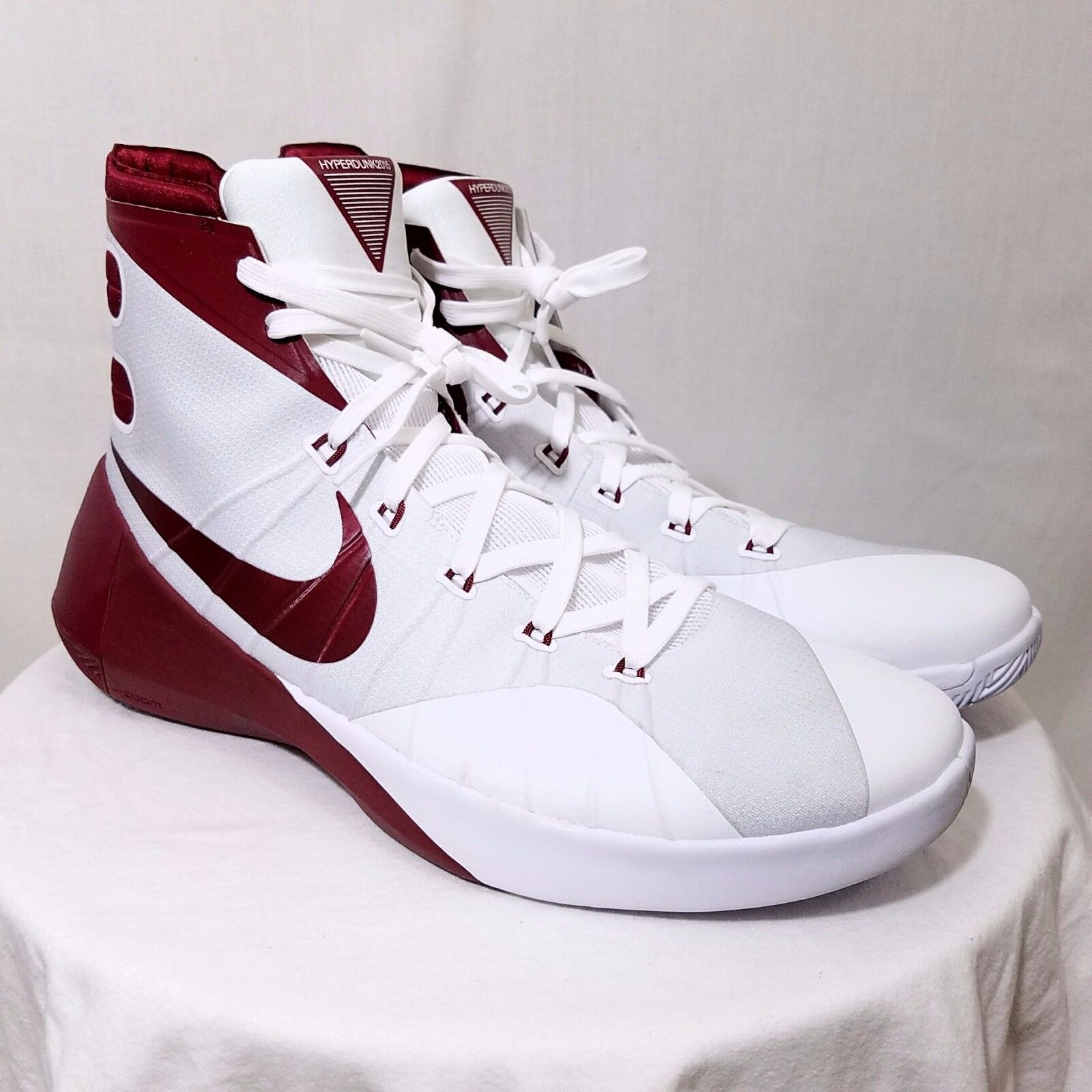 Nike Mens Hyperdunk 2015 TB Basketball Shoes 812944 161 Red US 16.5 NEW