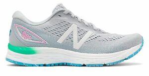 New Balance 女式 880v9 鞋灰藍色