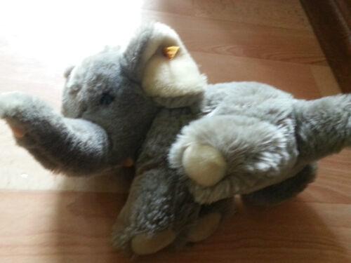 Steiff Original Steiff Elefant  Knopf Fahne 5040/21 Tiere