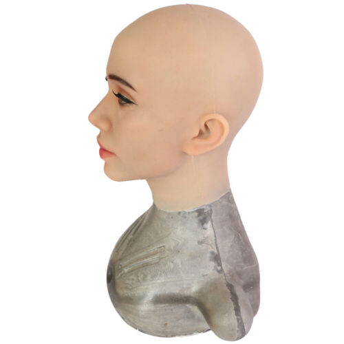 Realistic Silicone Western femelle Mature Style Masque Pour Crossdressers Halloween