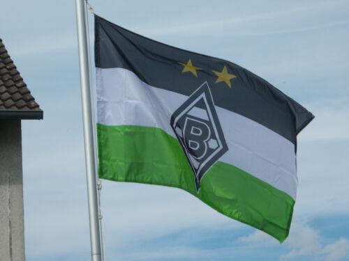 VfL Borussia Mönchengladbach Hissfahne 250 x 150 cm Fahne Logo 2019 NEU !!!