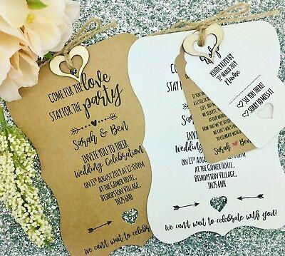 Rustic Matrimonio Invito Bundle, Shabby Chic, Vintage-mostra Il Titolo Originale