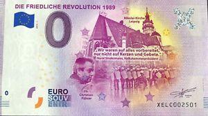 BILLET-0-EURODIE-FRIEDLICHE-REVOLUTION-1989-2019-1-NUMERO-2501