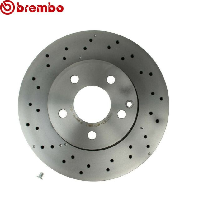 Set of 2 Brembo 09.A613.51 Front UV Coated Brake Disc