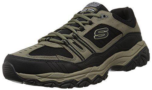 Skechers Sport Mens Afterburn Strike Memory Foam Lace-Up Sneaker 7 M