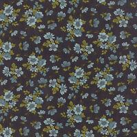 Nomad Wildflower Bone & Sky By The Yard Urban Chiks For Moda Fabrics Stash Sale