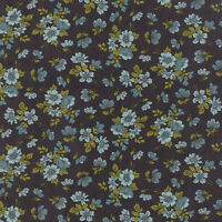 Nomad Wildflower Bone & Sky By The Yard Urban Chiks For Moda Fabrics Stash Sale