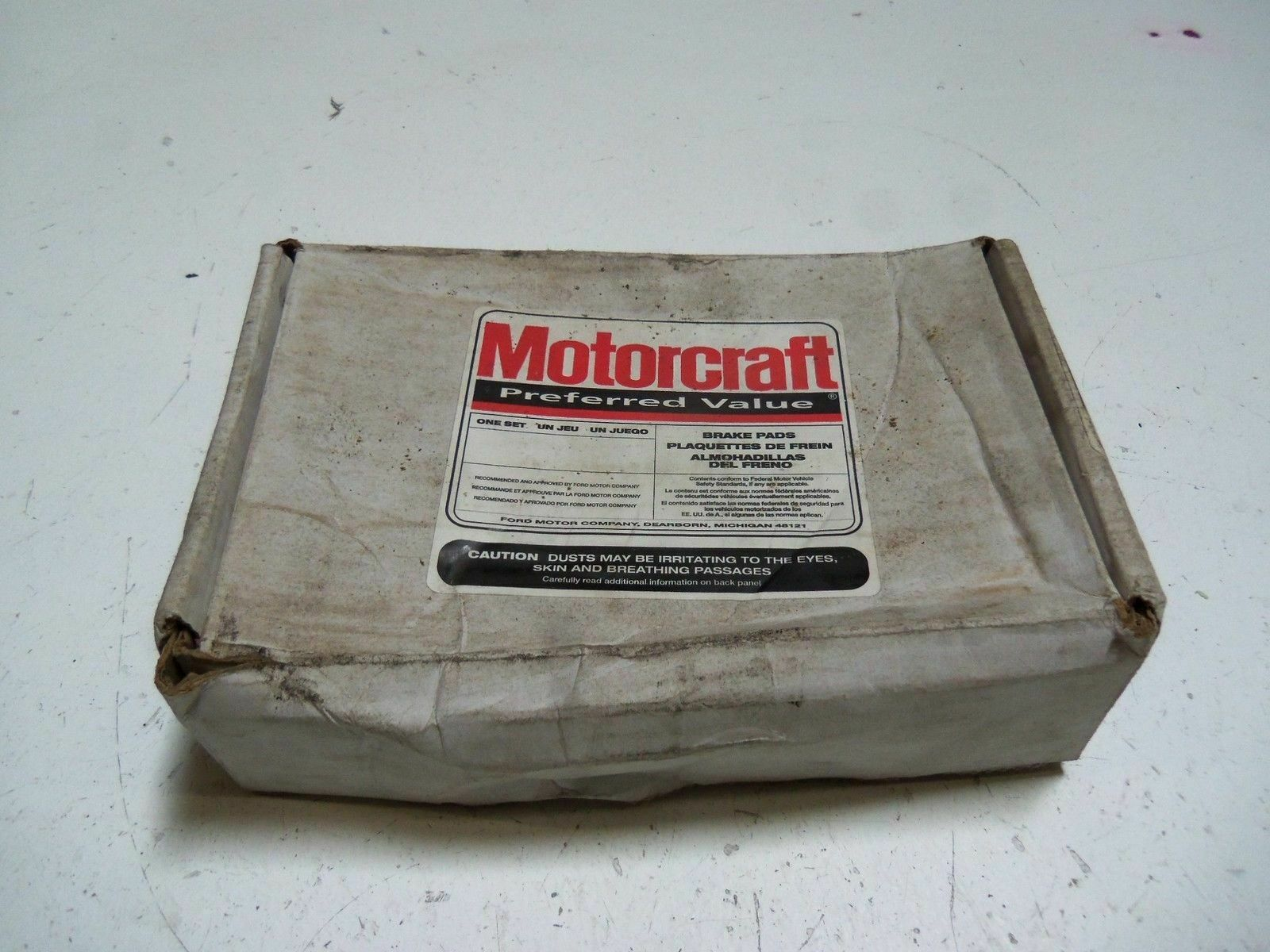 LOT OF 4 MOTORCRAFT BR24A BRAKE PADS NEW IN BOX
