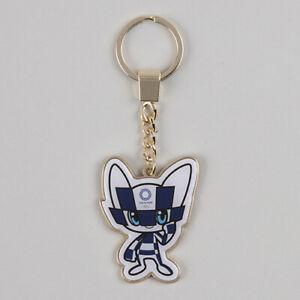 Tokyo Olympics 2020 Olympic Judo Key Holder Ring Mascot MIRAITOWA JAPAN