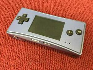 Game-Boy-Micro-Blue-Nintendo-from-japan-Gameboy-Micro