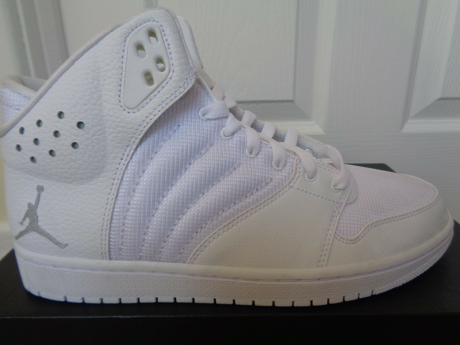 Nike Jordan 1 Flight 4 trainers Turnschuhe 820135 100 uk 7.5 eu 42 us 8.5 NEW+BOX