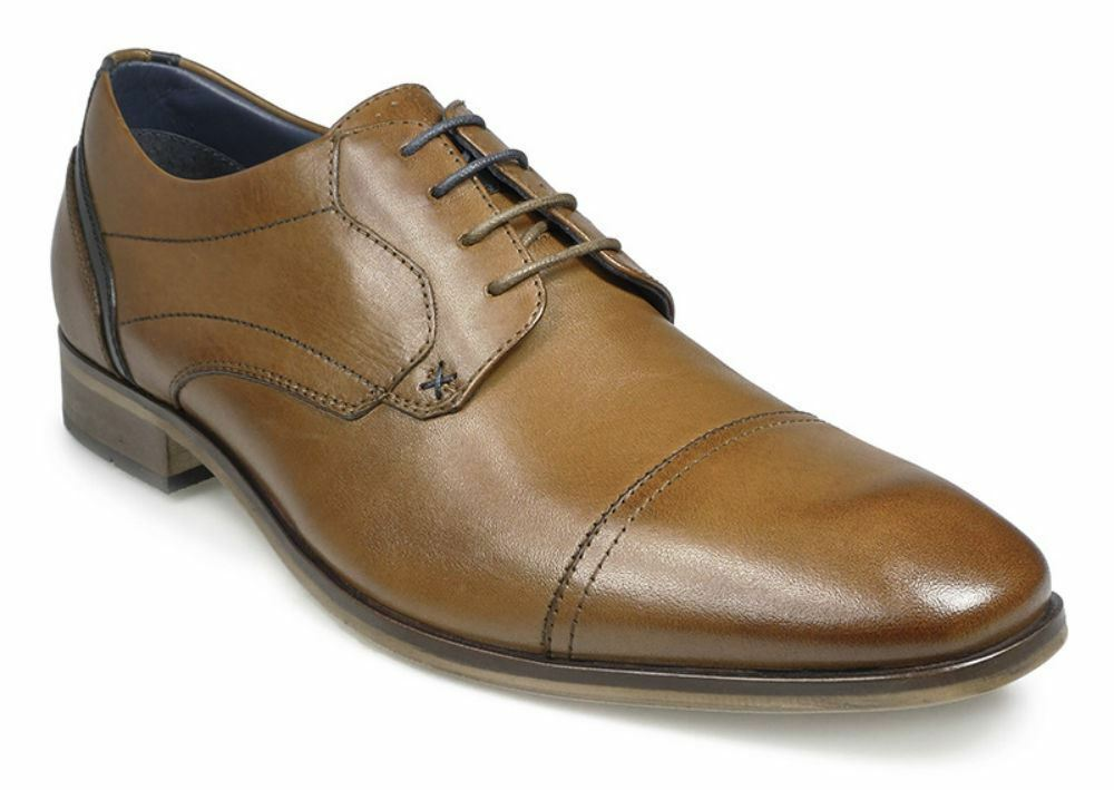 POD Iowa shoes in Cognac Brown in sizes 44, 45, 46 and upwards