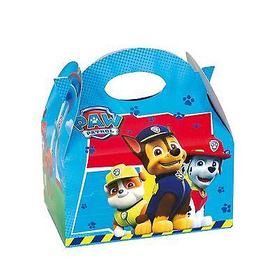1-24 Paw Patrol Boys Lunch Box Party Kids Goody Bag Filler Gift Birthday Toy