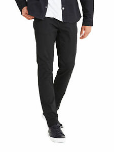 JACK   JONES Marco Enzo Chinos Slim Cotton Stretch Trousers Black ... bf8345b57