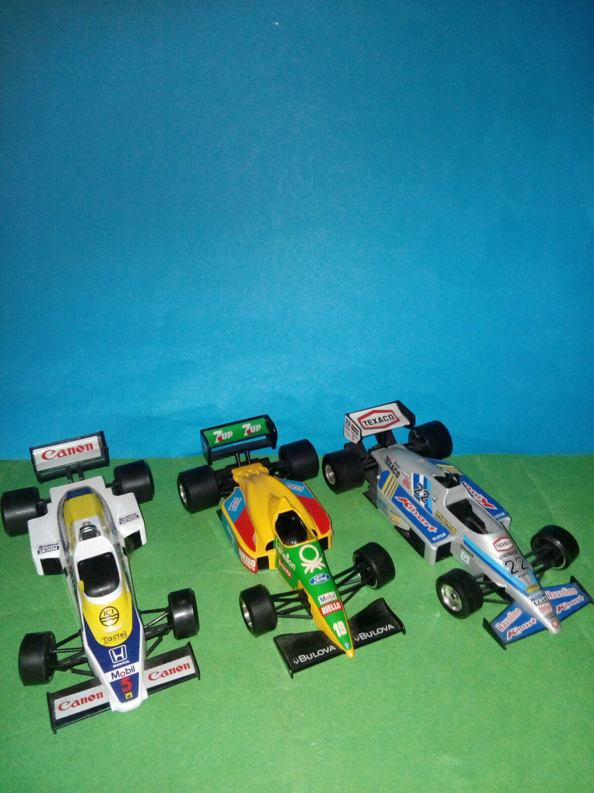 BURAGO WILLIAMS  F.1+BENETTON F,.1+ TEXACO 1 24 in METALLO  grand choix