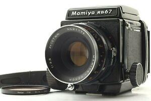 Quasi-Nuovo-Mamiya-RB67-PRO-corpo-con-Sekor-127mm-f3-8-l-039-obiettivo-dal-Giappone-353