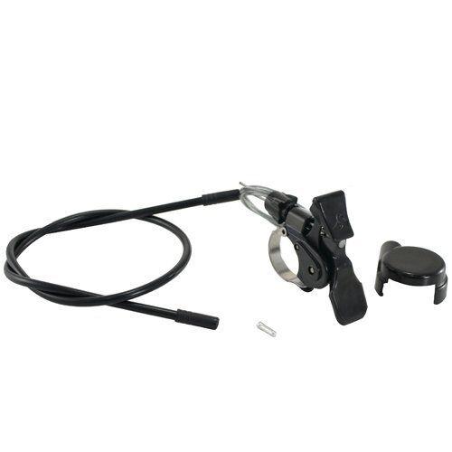 """SPINNER GRIND 20/"""" Suspension Fork 50 mm 1 1//8/"""" Remote Lockout Glossy Black"""