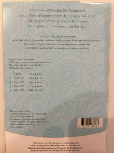 Spellbinders Die Sets Pick 1 of 27 Different Sets Nestabilities /& Shapeabilities